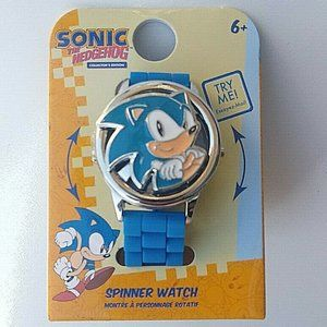 Sonic the Hedgehog Spinner Watch